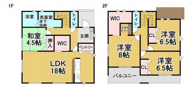 デザイン住宅「FIT」糸島市志摩師吉5期1号棟 4LDK