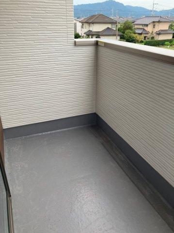 【バルコニー】デザイン住宅「FIT」糸島市前原南2丁目2期2号棟 4LDK