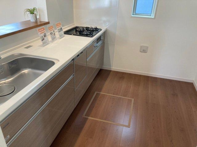【キッチン】デザイン住宅「FIT」糸島市前原南2丁目2期2号棟 4LDK