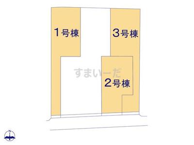 【区画図】グラファーレ磯城郡田原本町唐古2期