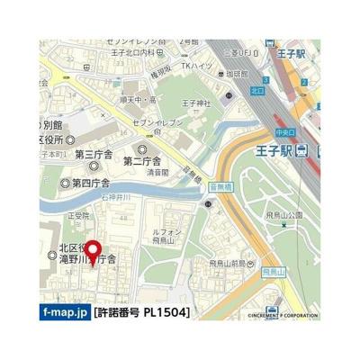 【地図】ハーモニー王子ザ・レジデンス