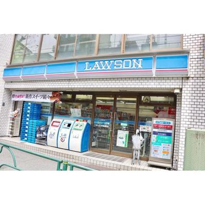 コンビニ「ローソン早稲田町店まで70m」