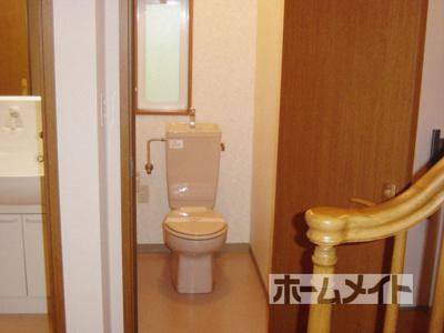 【トイレ】シャレー高槻