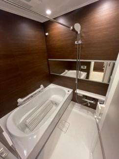 【浴室】ヴィルヌーブ横浜港南台 3LDK リノベマンション
