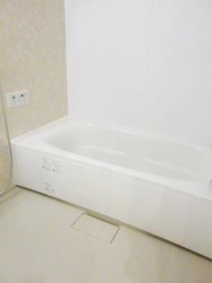 浴室1坪以上でゆったりとしたバスタイムを