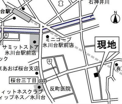 【地図】エスポワール桜台
