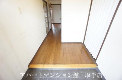 【玄関】リバーサイドヒルズ
