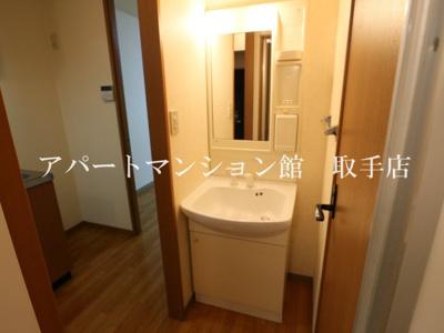 【独立洗面台】リバティーハイツ・エビハラ