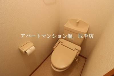 【トイレ】シャンティ花輪台