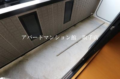 【バルコニー】シャンティ花輪台