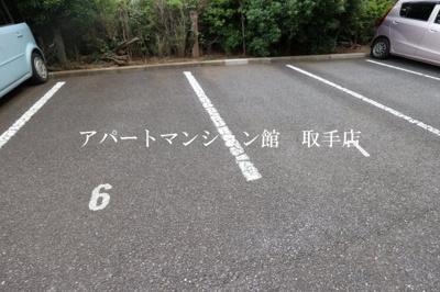 【駐車場】シャンティ花輪台