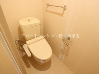 【トイレ】パティオ藤代Ⅱ