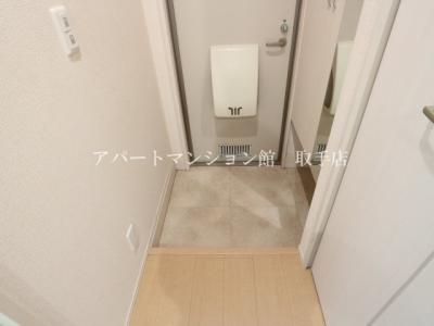 【玄関】パティオ藤代Ⅱ