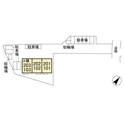 【区画図】クレストヴィラⅠ