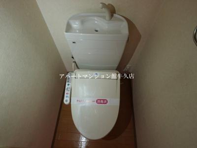 【トイレ】パサニアコート