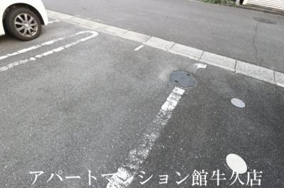 【駐車場】シャルマン(ひたち野)