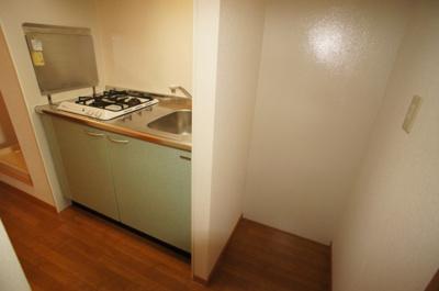 冷蔵庫置き場♪