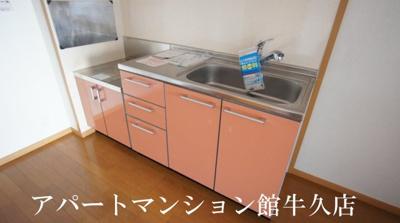 【キッチン】ソレアードホソヤD