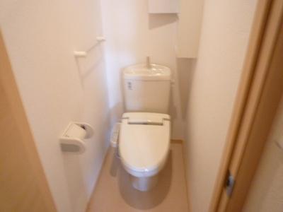 【トイレ】サンローザ・ヴィラB