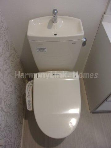 ハーモニーテラス蓮沼町のシンプルで使いやすいトイレです☆
