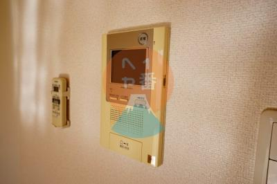 TVモニターホンです。