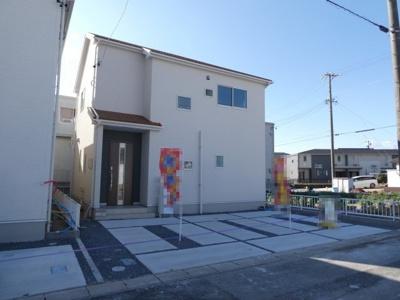 碧南市若松町21-1期新築分譲住宅1号棟写真です。2021年9月撮影