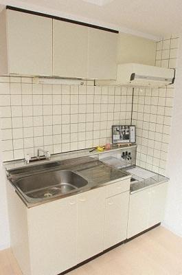 【キッチン】シングルコート南7条B棟
