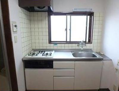 【キッチン】サニービレッジ大江