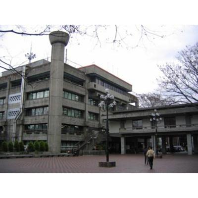 役所「世田谷区役所まで2448m」世田谷区役所