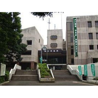 役所「狛江市役所まで2155m」