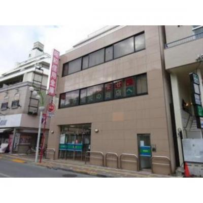 銀行「昭和信用金庫経堂支店まで495m」