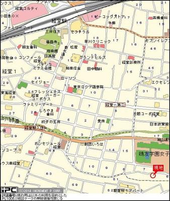 【地図】メインステージ経堂第2