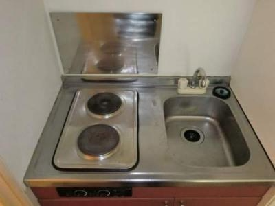 【キッチン】レオパレス清水