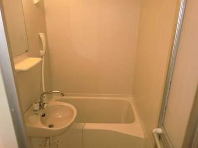 【浴室】レオパレス清水