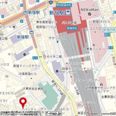 【地図】バロール代々木