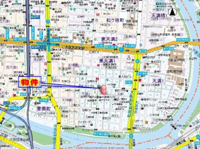 【地図】ROJI01