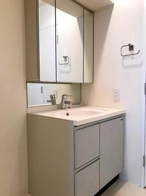 あると便利な独立洗面台