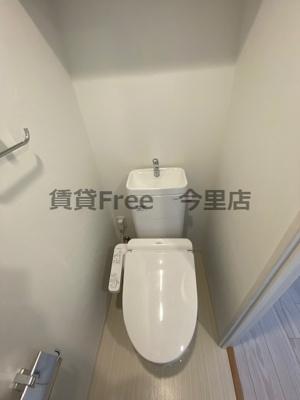 【トイレ】アーバネックス真田山 仲介手数料無料
