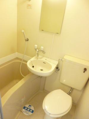 【浴室】スカイコート下北沢