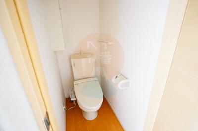 うれしいウォシュレット付きトイレです