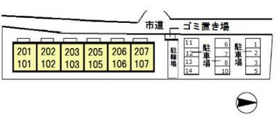 【区画図】プレジオ