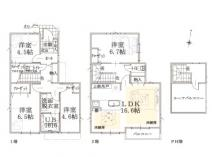 練馬区石神井台2丁目 新築戸建ての画像