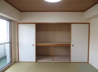 大容量収納可能なスペース