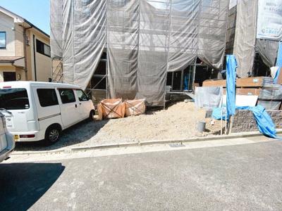 3台分の駐車スペースになります