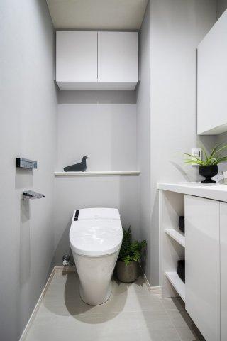 パーク・ハイム中野富士見町:ウォシュレット機能付きタンクレストイレです!