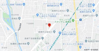 【地図】アンプルールフェールヒカリ櫻代 (株)Roots
