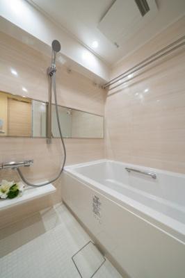 【浴室】❖都心に近い♪リノベマンション☆DEN&WIC☆重厚感 玄関大理石【パーク・ノヴァ池袋要町】❖
