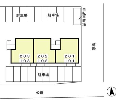 【区画図】サンリール
