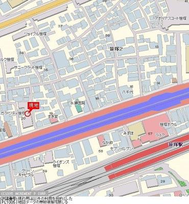 【地図】ガラ・シティ笹塚