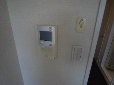 モニター付インターホン。